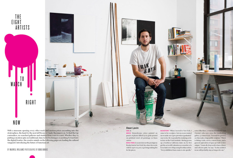 The Eight Artists to Watch Right Now,  Details Magazine