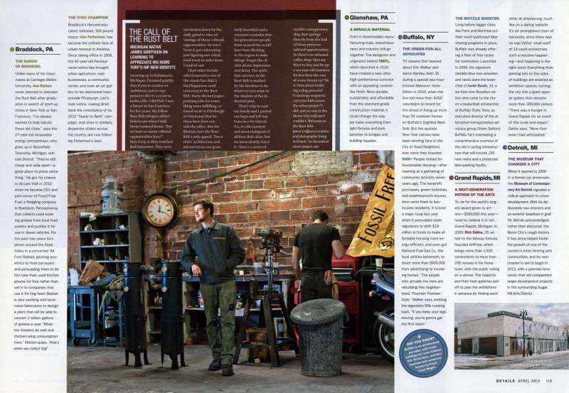 Rustbelt Revival,  Details Magazine