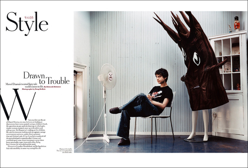 Drawn to Trouble,  New York TImes Magazine